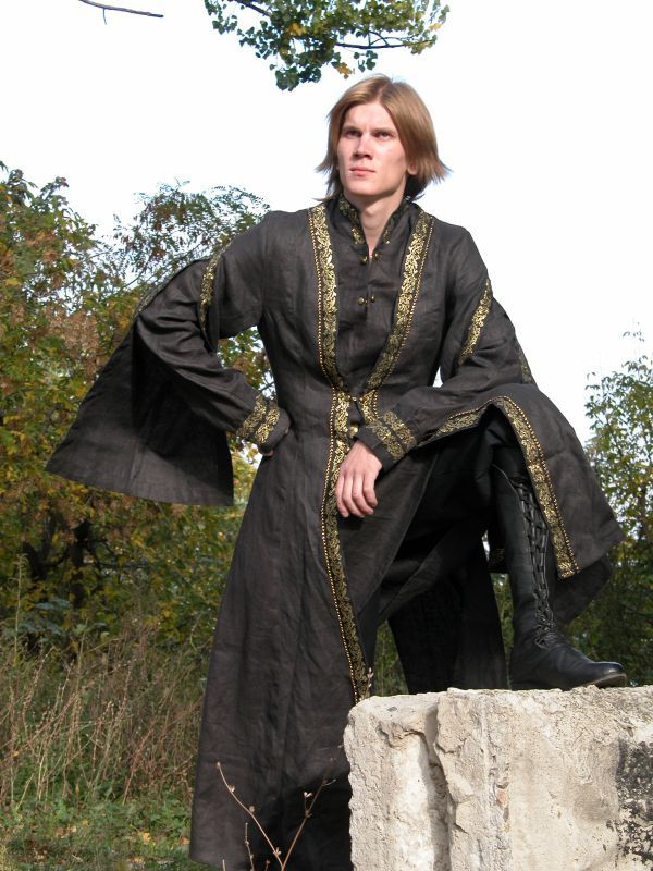 Medieval prince clothing   Medieval Prince on the throne