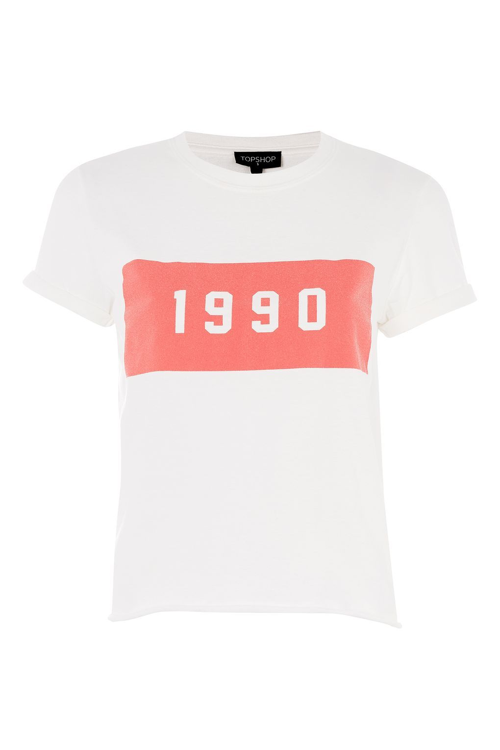 168ab0a250d38 Carousel Image 0 Topshop T Shirts, Cotton Tee, White Cotton T Shirts, Cool