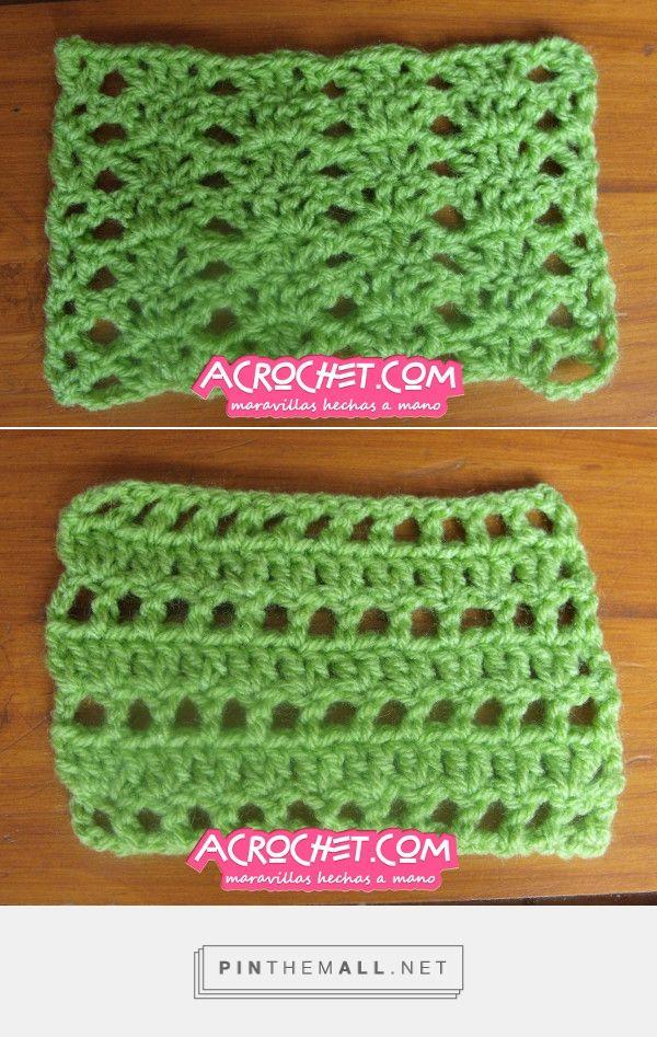 Dos puntadas fantasia sencillas y rápidas   Blog a Crochet - ACrochet - created via http://pinthemall.net