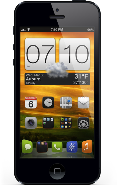 Get Htc One X Clock And Weather Widget On Iphone Posted On Mar 9 2013 Whichever Side Of The Android Ios De First Iphone Instructional Technology Web App