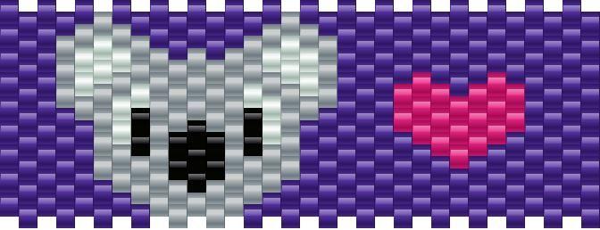 koala bead pattern