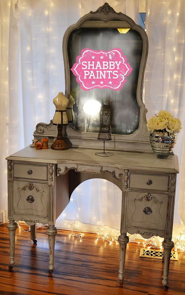 Miss Hollywood Chalk Painted Vanity Painted Vanity Painted Furniture Chalk Paint Furniture