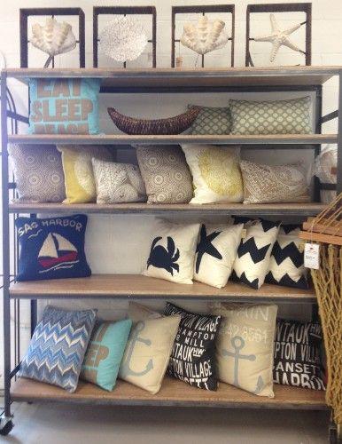 Dodds And Eder Sag Harbor Pillow Display
