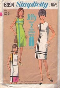 simplicity patterns 1966 - I made this one, too!