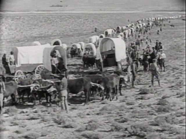 wagon trains Covered Wagon Train Herstory Old west