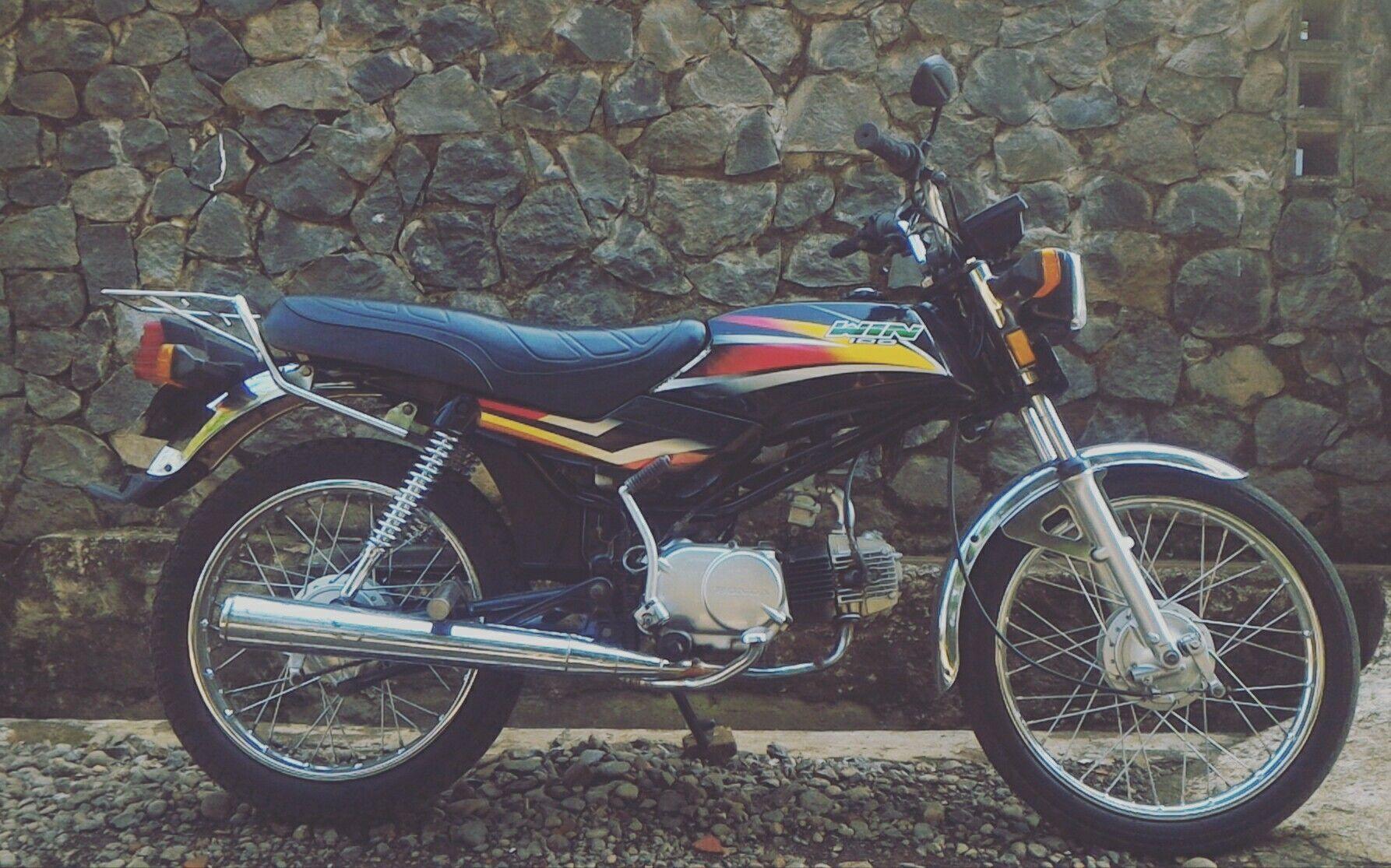 Honda Win 100 97cc 1988 Versi Original Pinterest