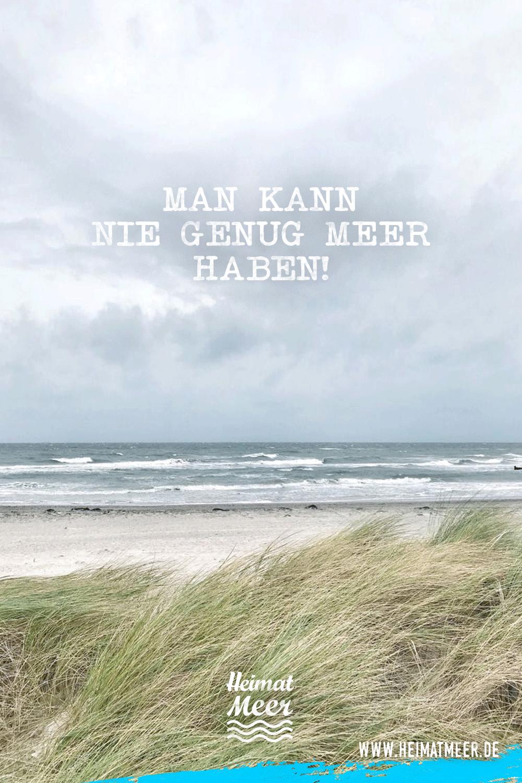 Photo of Man kann nie genug MEER haben! | Mee(h)r Sprüche vom Meer >>