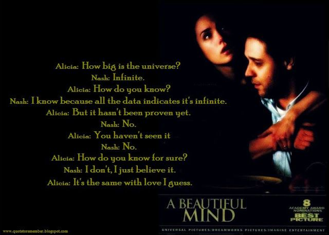 Beautiful Mind Quotes From In 2019 Beautiful Mind Quotes