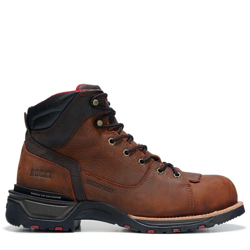 9db24c6fbe0 Men's Technoram 6 | Products | Composite toe work boots, Brown ...