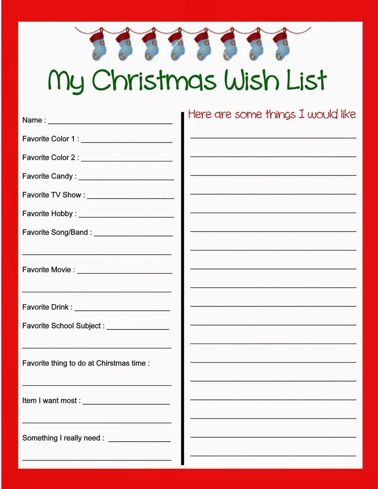 stout stop christmas wish list and kids letter to santa books