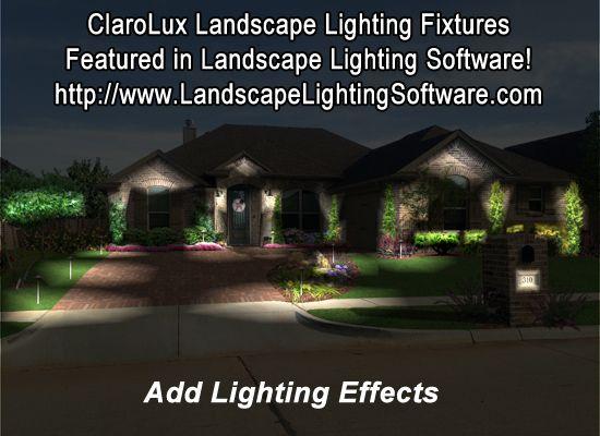 Clarolux Lighting Design Software Landscape Lighting Design Landscape Lighting Lighting Design Software