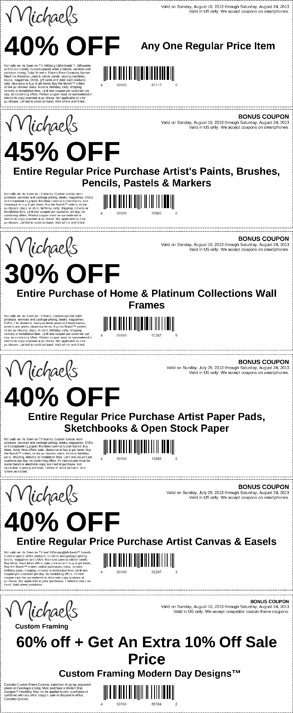 Pinned August 20th: 40% off a single item and more at Michaels ...