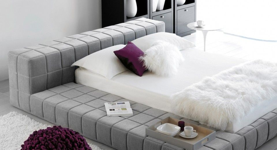 Lit Sensus Maison Corbeil Bed Bed Frame Modern Loft