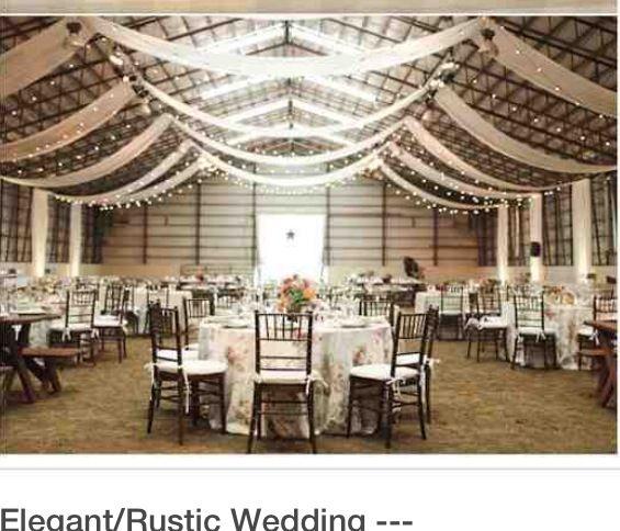 Shed Wedding, Wedding Ceiling, Country Barn