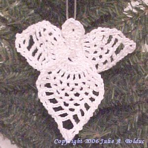 Image of Pineapple Guardian Angel ~ free pattern for free members