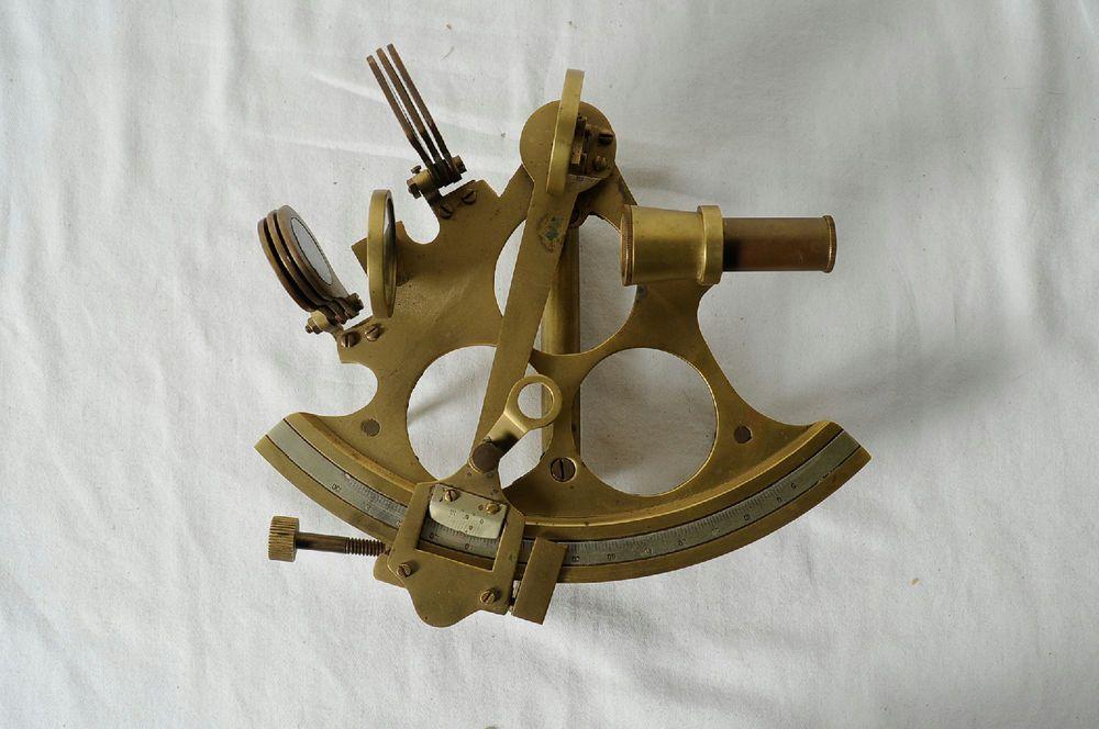 Vintage Brass Navigational Map Divider Nautical Instrument Antique Mariitme Item