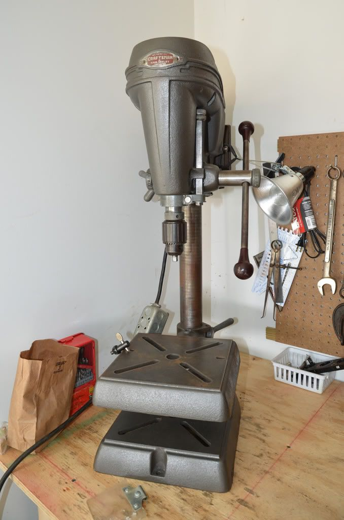 40 S Craftsman Dp Craftsman Vintage Iron Craftsman Drill Press