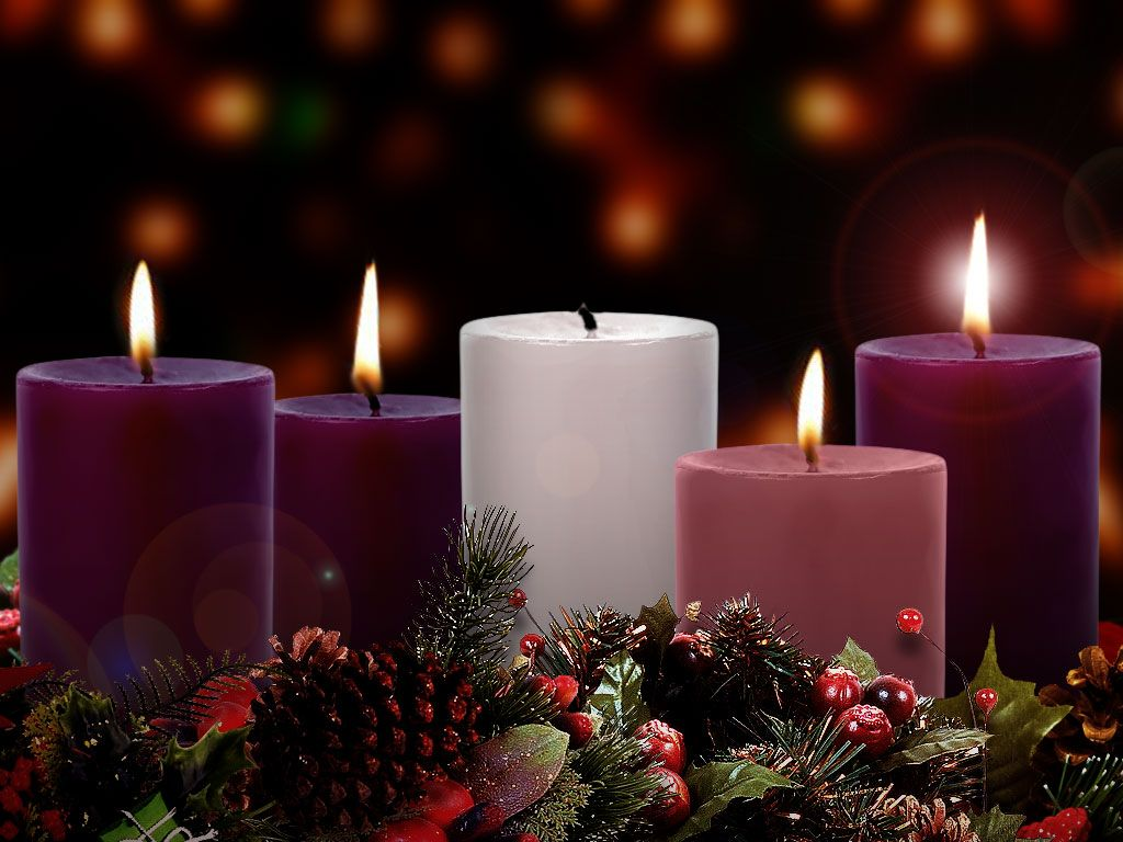The Chellsen Clan: Advent–Week 4 | Advent candles, Advent wreath, Pink  candles