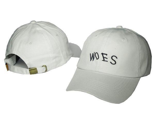 eaa3b2cea9f Mens   Womens October s Very Own Woes Script Logo Strap Back 6 Panel  Sportcap Adjustable Cap
