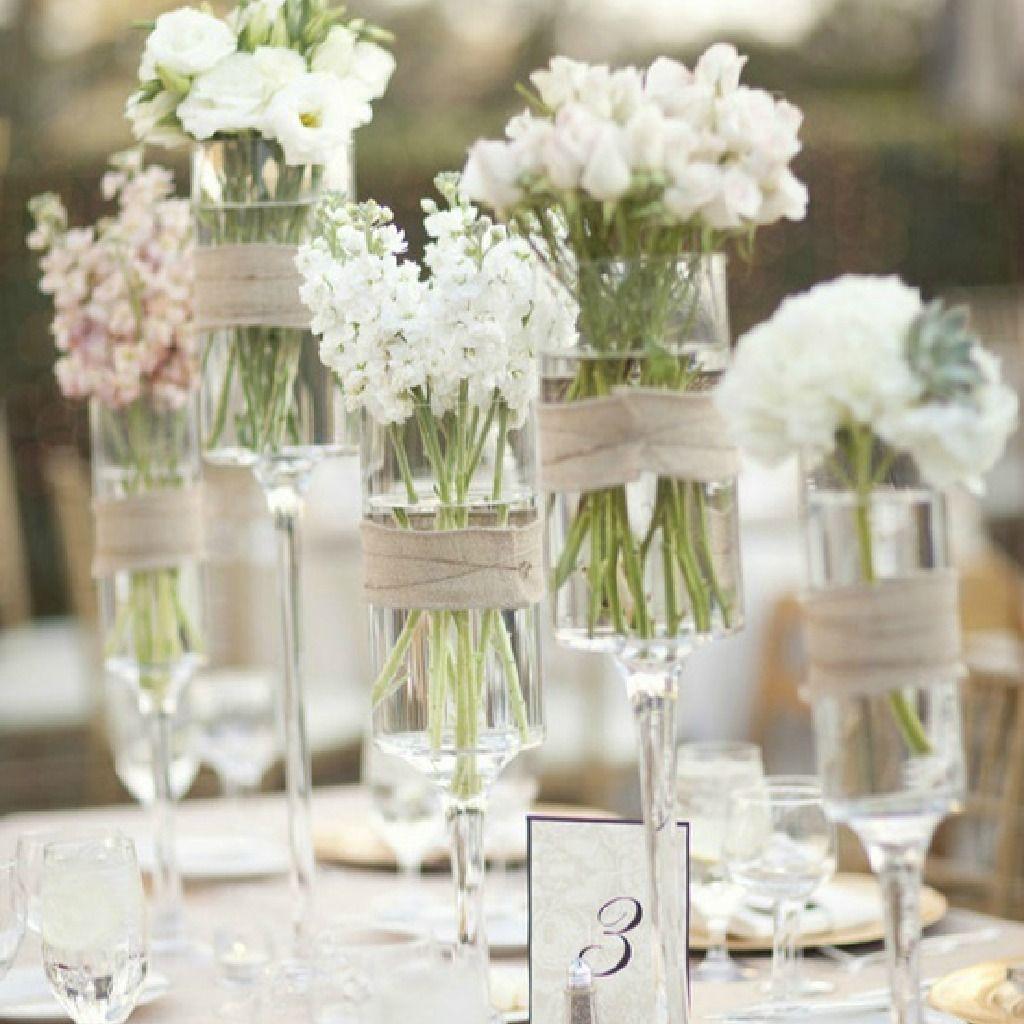Tu guia de casamiento centro de mesa 4 wedding - Decoracion mesa centro ...