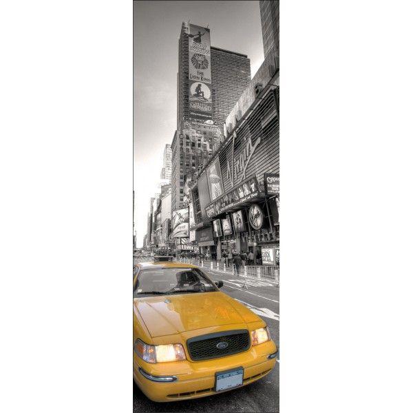 de porte trompe lu0027oeil New York Taxi - Oeil Pour Porte D Entree
