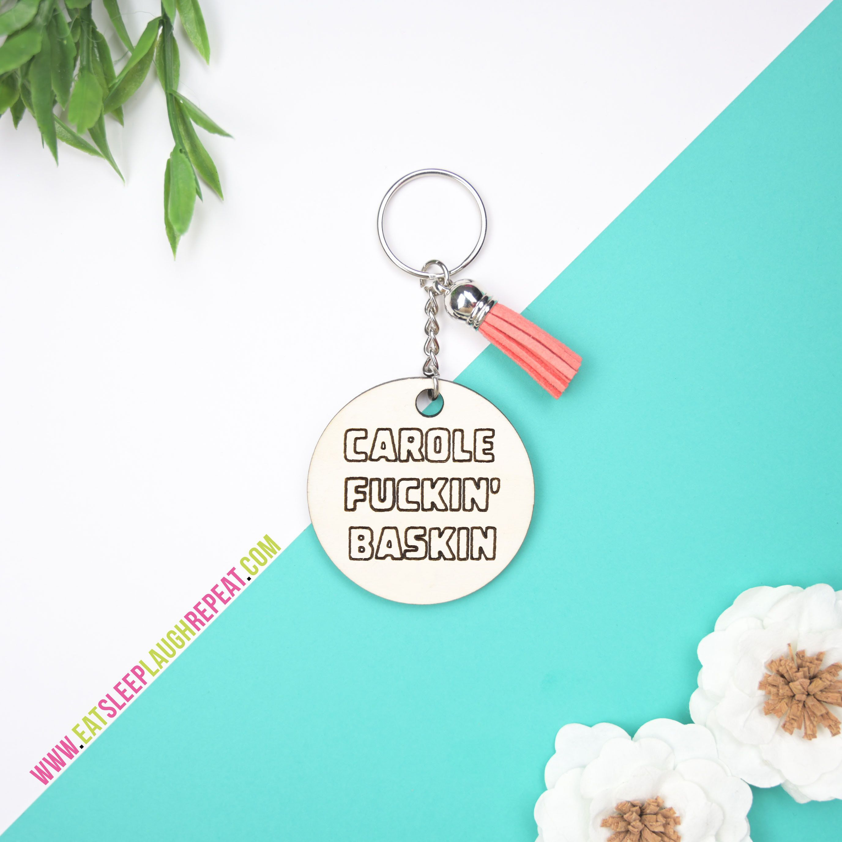 Pin On Eat Sleep Laugh Repeat Keychains
