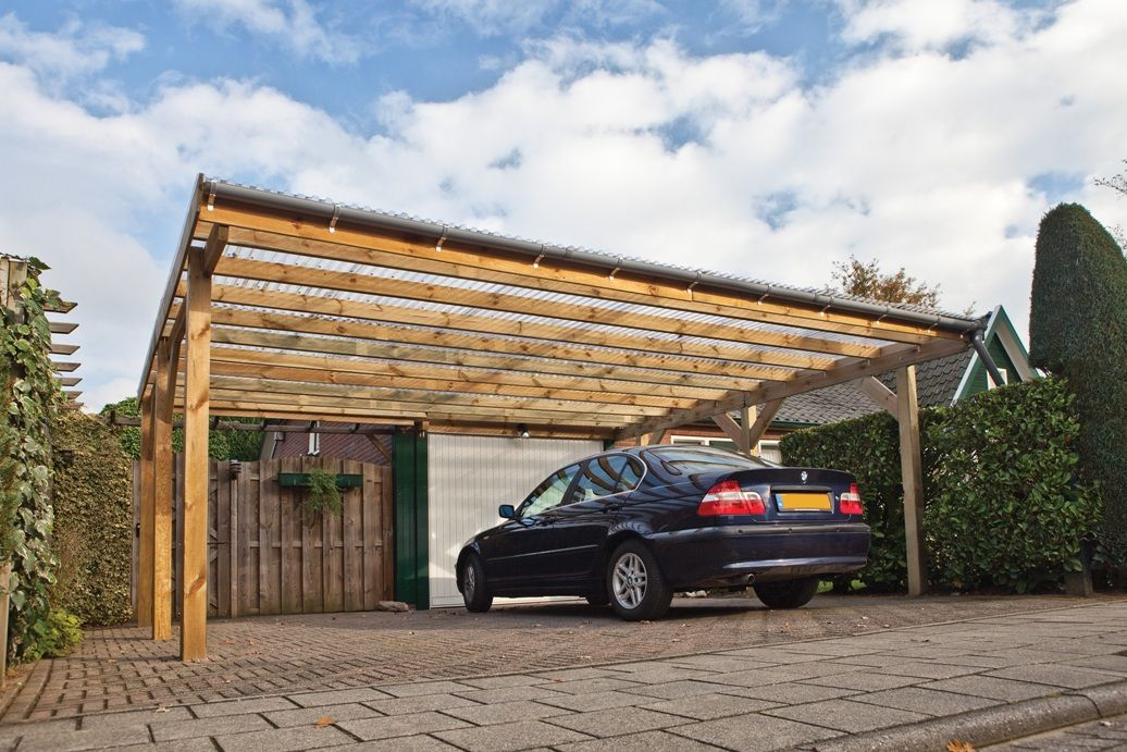 2 Car Metal Carport Flat : Double carport m pinterest free standing