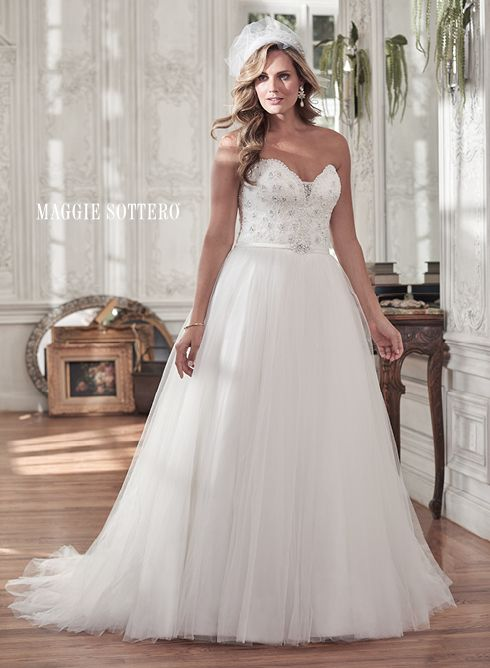 Flattering Wedding Dresses For Curvy Brides Maggie Sottero