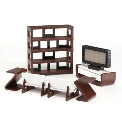 Emerson Modern Dollhouse Furniture
