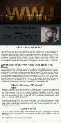 Internet Radio | Piktochart Infographic Editor