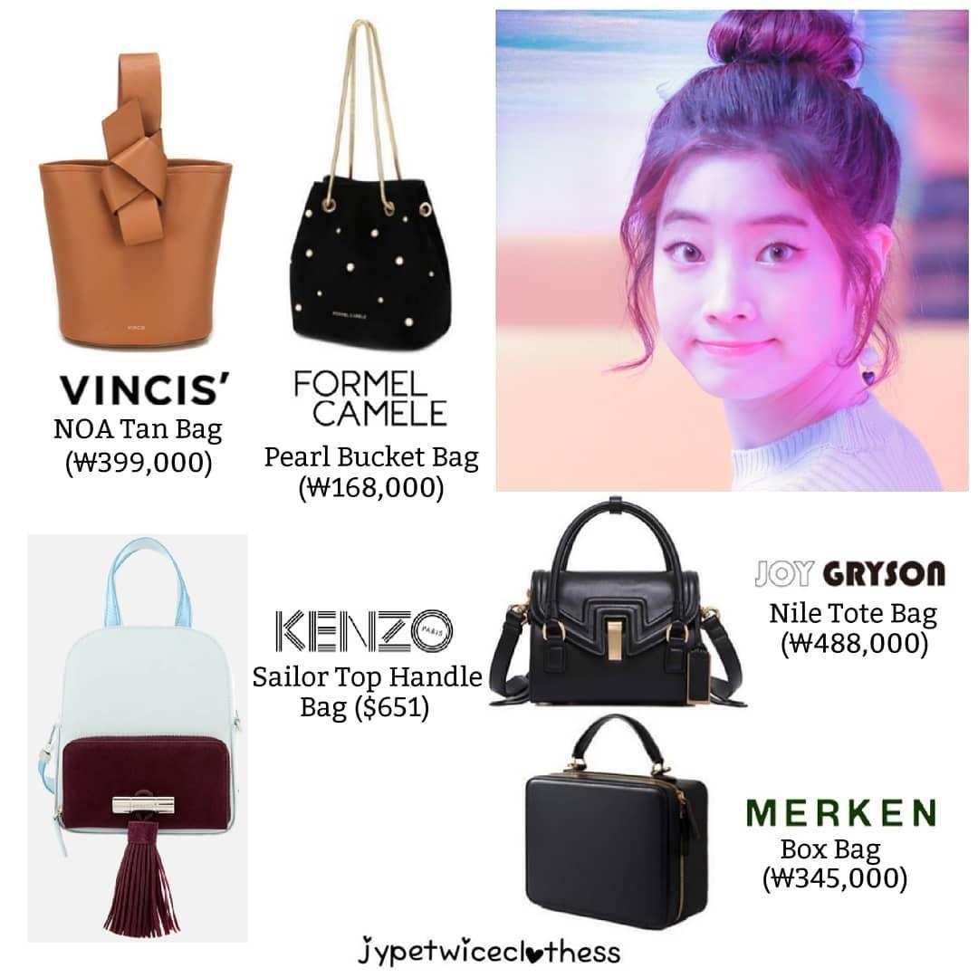 Twice S Fashion On Instagram Dahyun Bag Compilation Part 4 Vincis Noa Tan Bag 399 000 Formel Camele Pearl Buc Kpop Fashion Fashion Fashion Collection