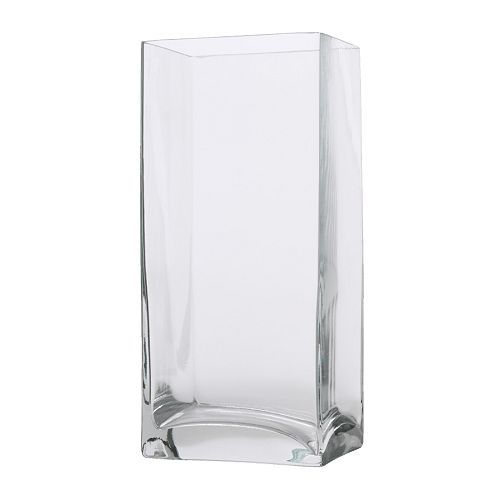 Ikea Tall Square Vase 4x325x875 499 Centerpieces Pinterest