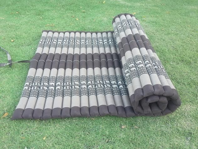 kapok100 thai roll up mat fold out mattress cushion day bed camping size xl