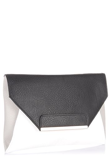 Miss Selfridge-White Clutch