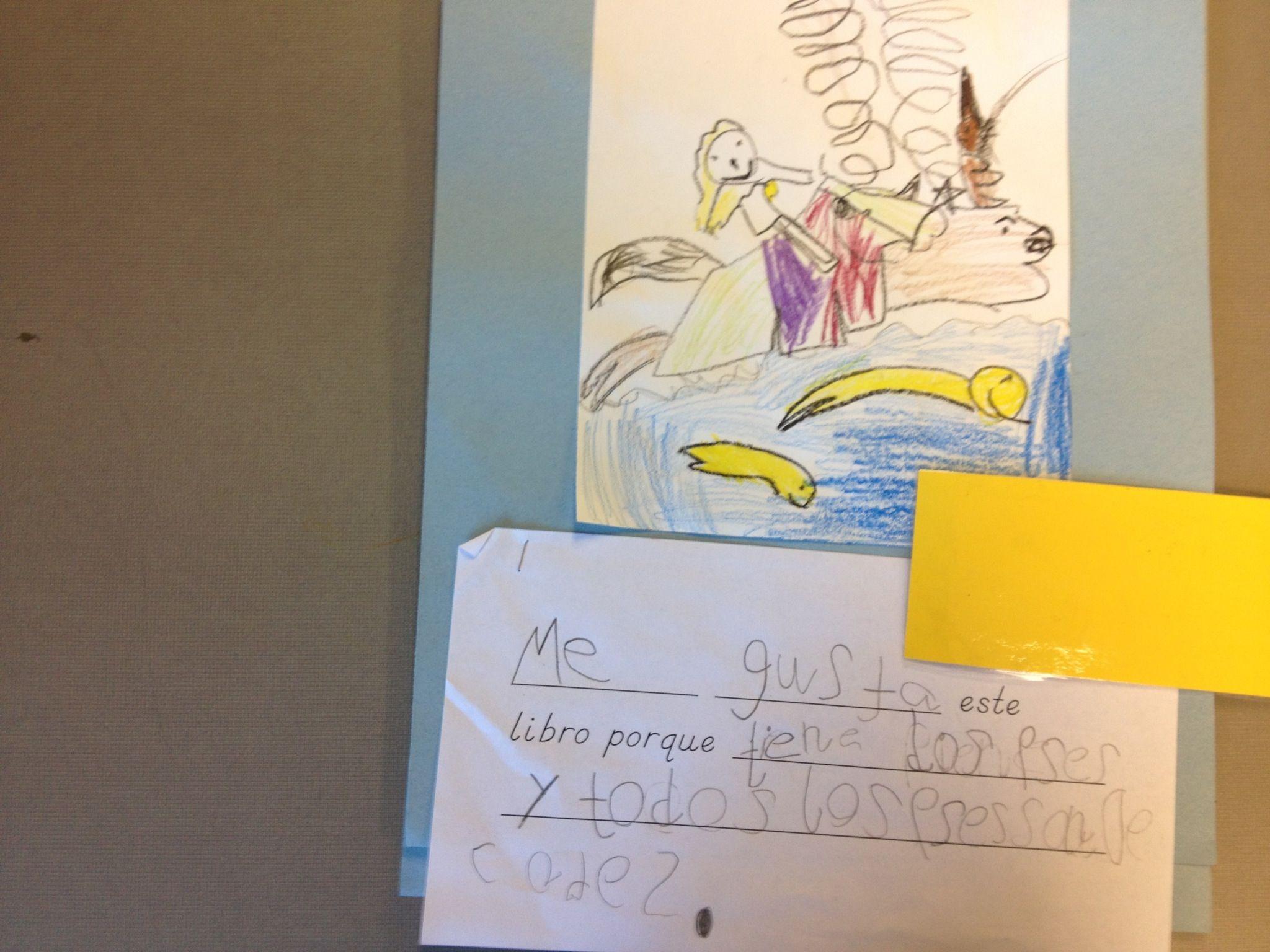 My Favorite Book Bilingual Kindergarten Writing Project