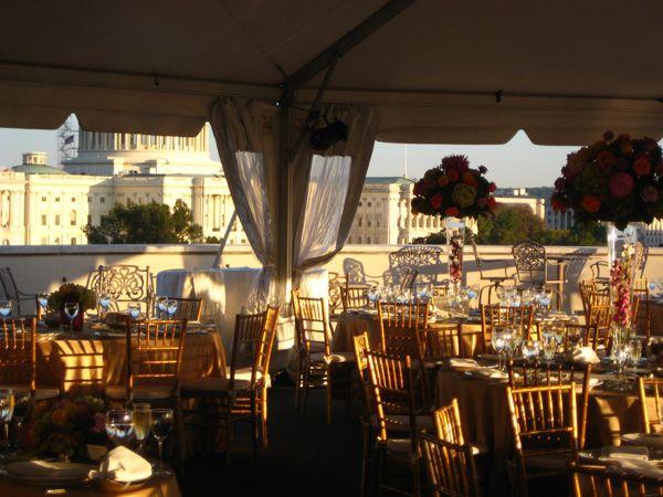 Charlie Palmer Steak Rooftop Terrace Rooftop Terrace Rooftop Rooftop Wedding Reception