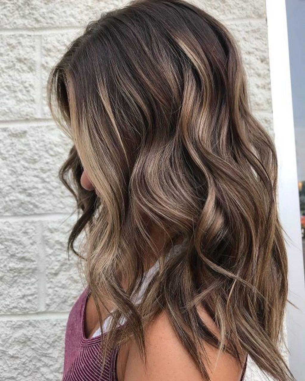 Cool 48 Fantastic Brunette Balayage Hair Color Ideas Fryzury