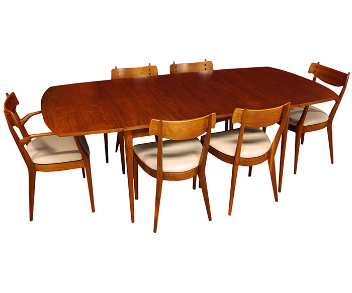 Vintage Drexel Dining Set By Kipp Stewart
