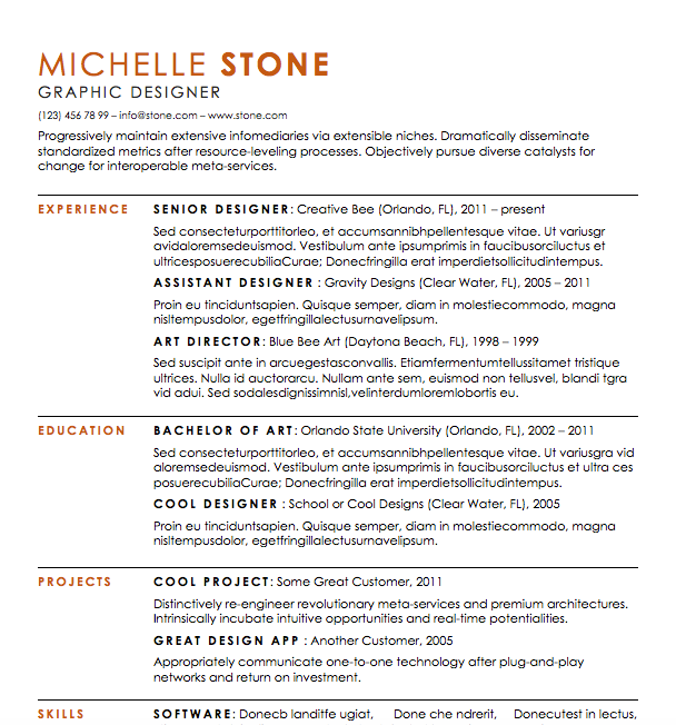 free resume download substantial microsoft word format