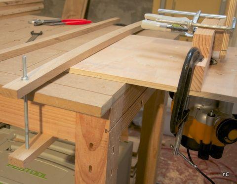 fabriquer une table de d fonceuse d fonceuse technique et accessoires pinterest d fonceuse. Black Bedroom Furniture Sets. Home Design Ideas
