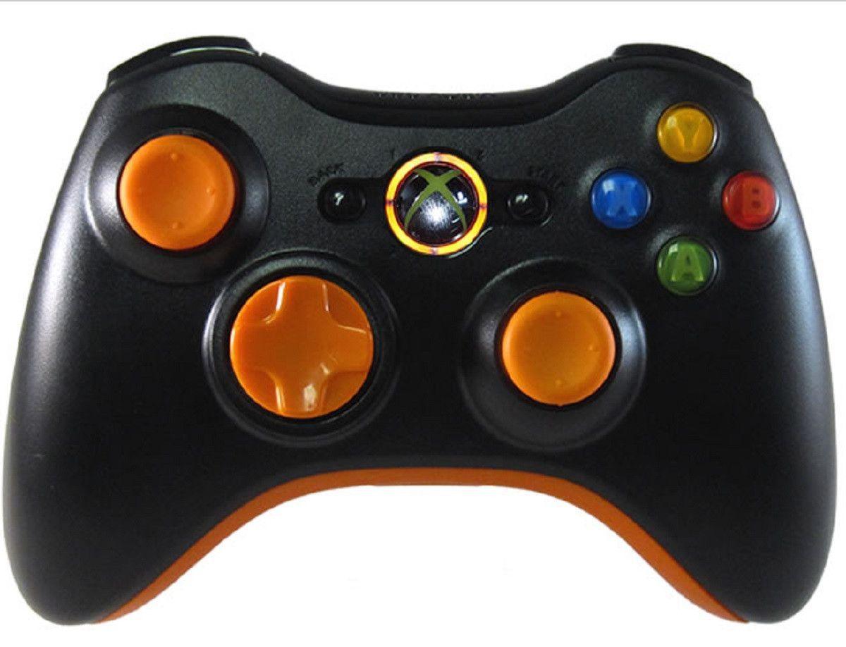 Master Mod Controller Xbox 360 Orange Out