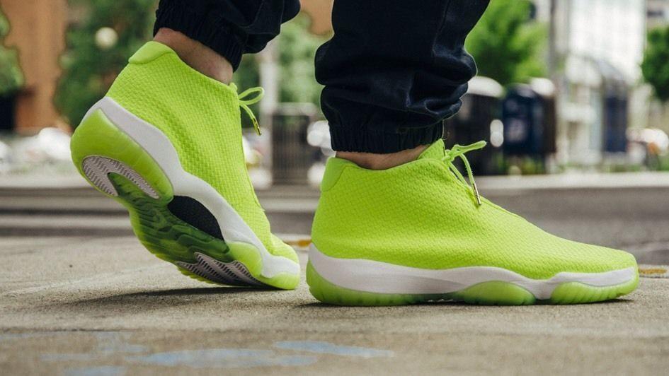High Quality Nike Air Jordan Future Glow Volt Volt-White