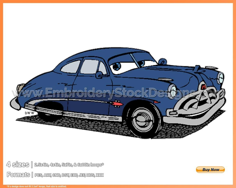 Doc Hudson Cars Cartoon Sticker Bumper Decal /'/'SIZES/'/'