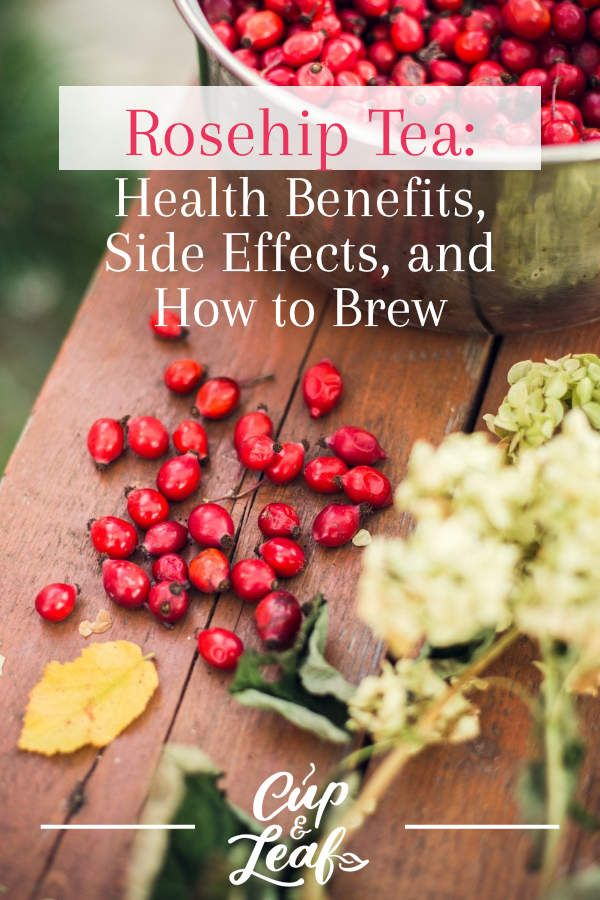 Rosehip Tea: Health Benefits, Side Effects, and How to Brew   Rosehip tea, Tea health benefits ...