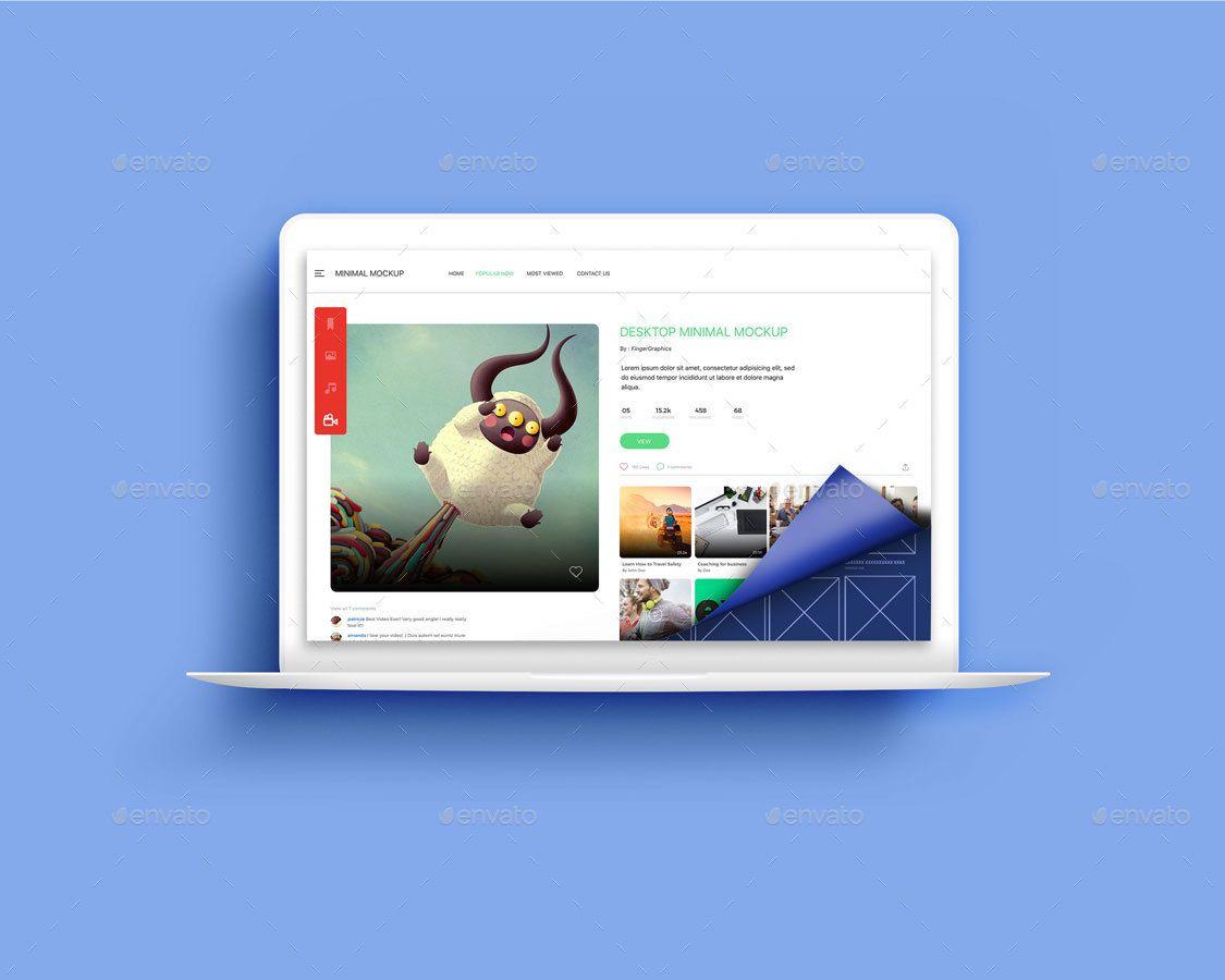 Scroll Web App Showcase Mockup Web App Mockup App