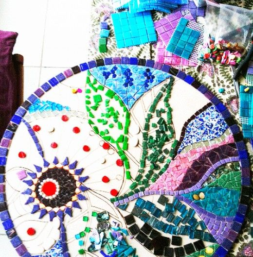 How To Mosaic: Art For Your Garden