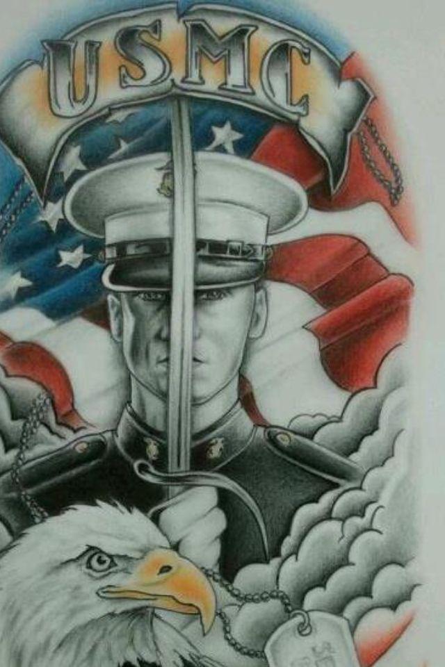 Marine Corps Pride Marine Corps Art Marine Corps Tattoos Usmc Tattoo