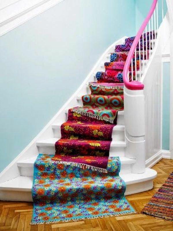 Le Tapis Multicolore  Apportez Des Touches De Joie Dans LIntrieur