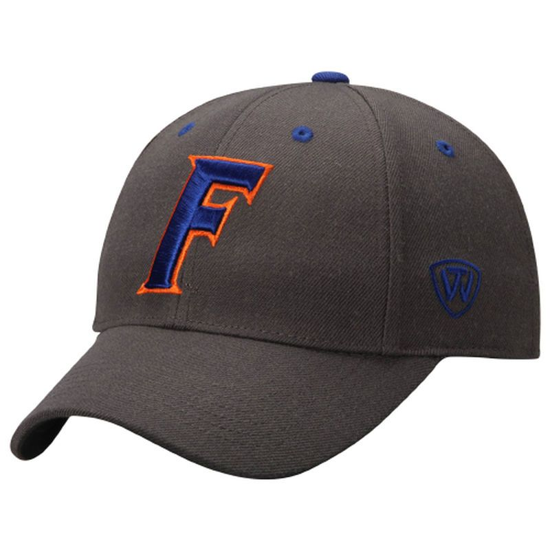 sports shoes c81d2 fa658 Florida Gators Top of the World Dynasty Memory Fit Fitted Hat - Charcoal