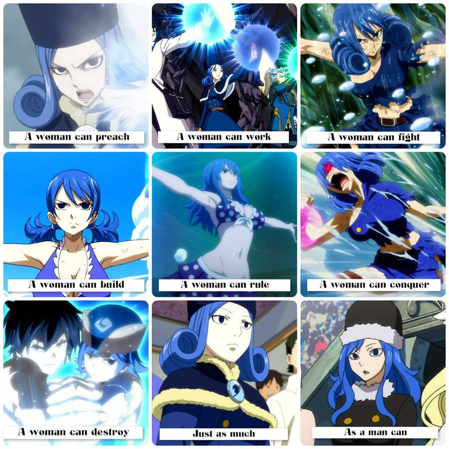 Fairy Tail .:A Woman Can:. Juvia Lockser By Flames-Keys On